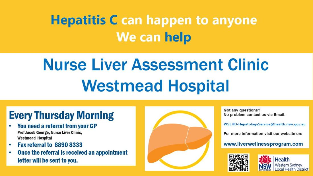 Hepatitis C Nurse Clinic - Liver Wellness Program